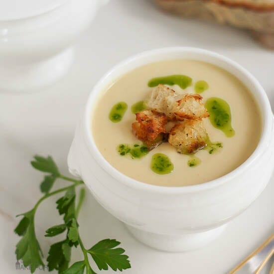 Celery Root Soup