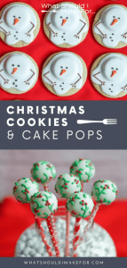These Christmas cookies and cake pops are sure to make your holiday merry!
