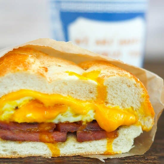 NJ Egg Sandwich