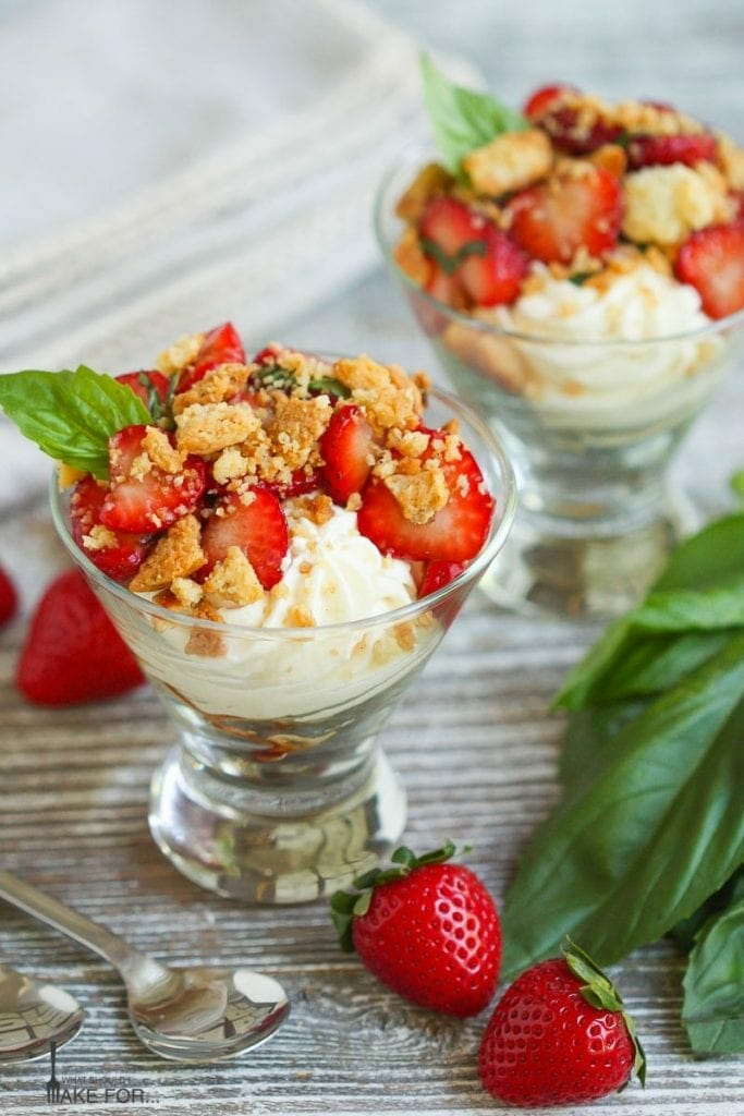 Strawberry Cheesecake Shortcakes