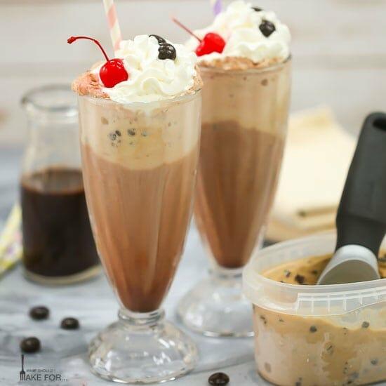 Mocha Ice Cream Soda