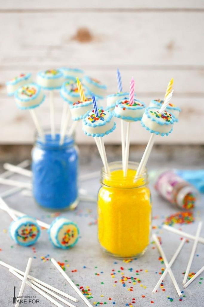 Birthday Cake - Cake Pops