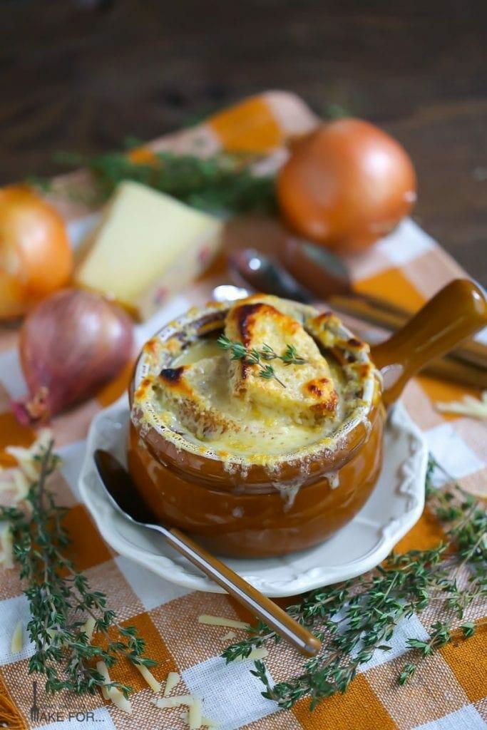 French Onion & Leek Soup