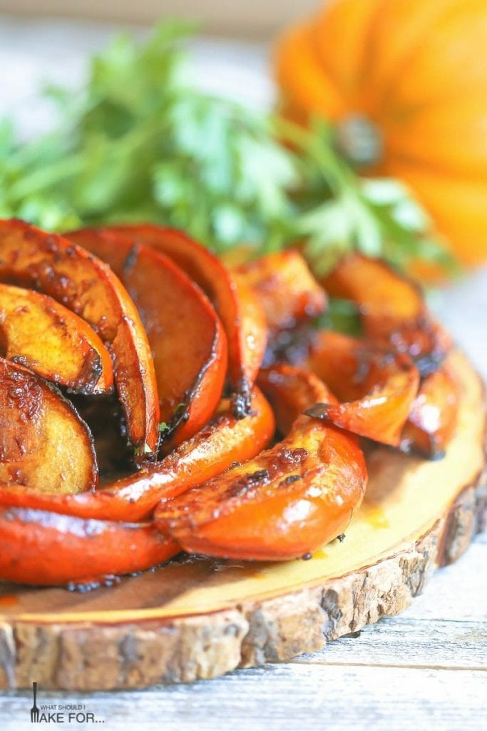 Sweet and Spicy Acorn Squash Wedges