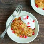Hasselback Pears