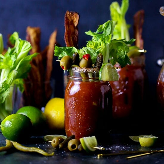 Bloody Mary with all the Fixins