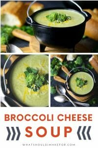 Easy, creamy, cheesy and oh so satisfying, this broccoli cheese soup is pure comfort.