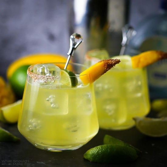 Mango Shrub Margarita