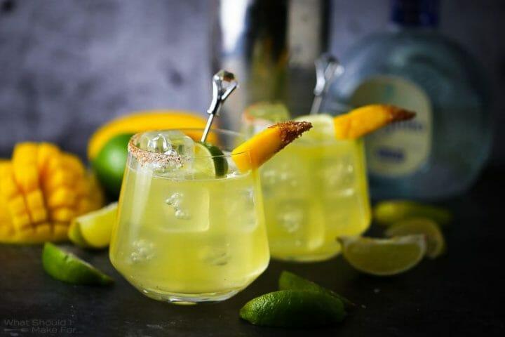 Mango Shrub Margarita