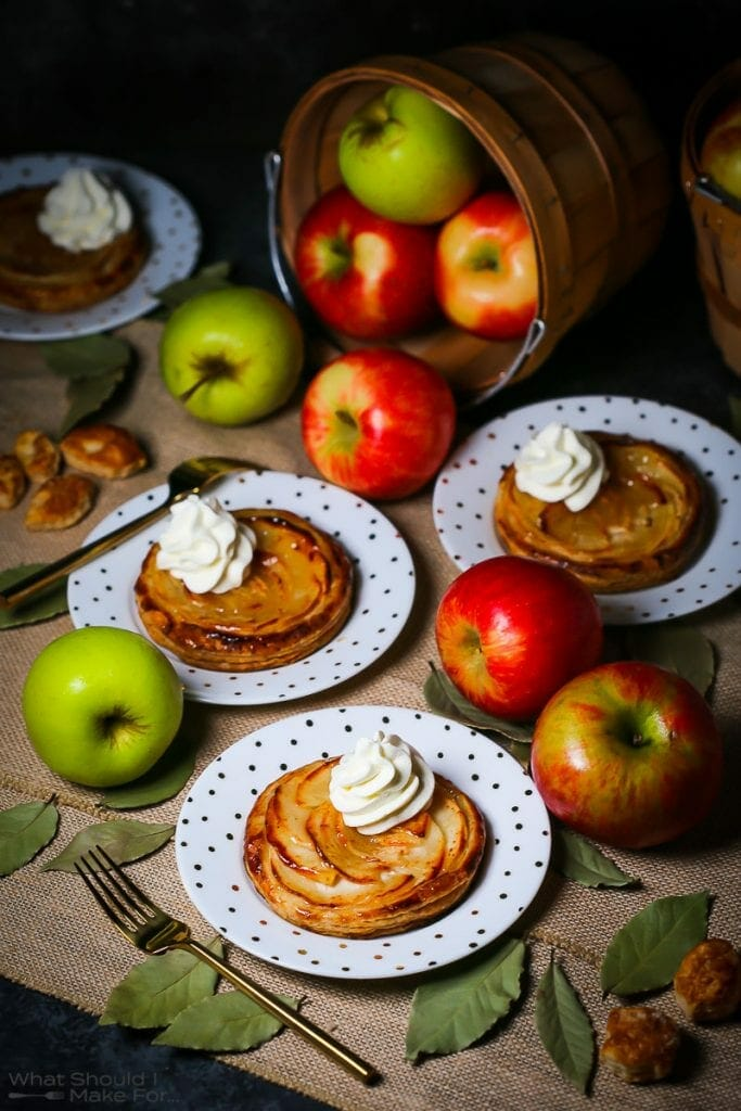 Apple Puff Pastry Tarts