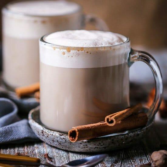 Boozy Chai Latte