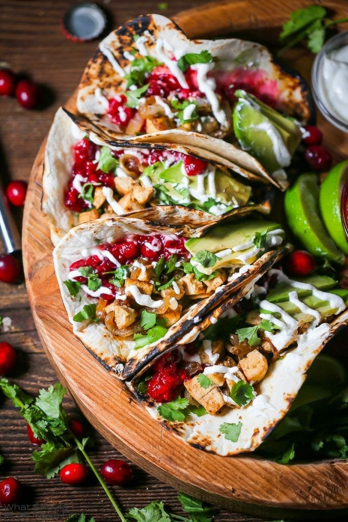 Leftover Turkey Tacos