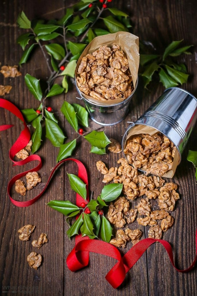 Spiced Candied Walnuts