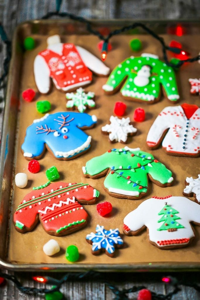 Ugly Sweater Gingerbread Cookies What Should I Make For