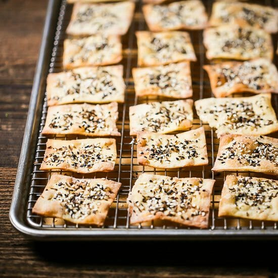 Seeded Buttermilk Crackers