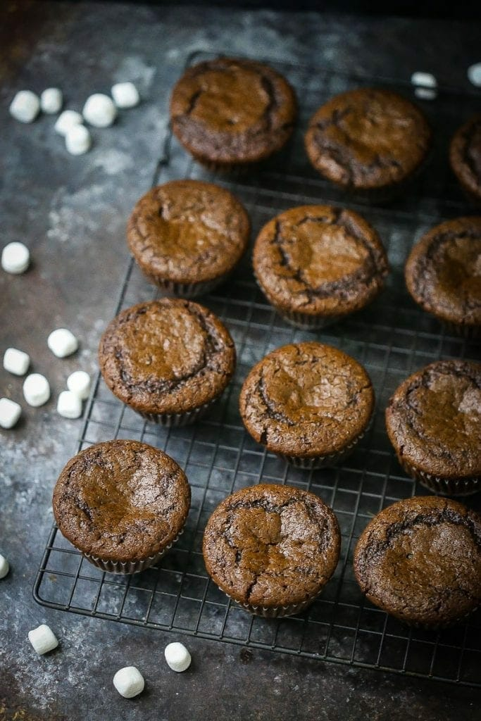 Caramel S'mores Cupcakes