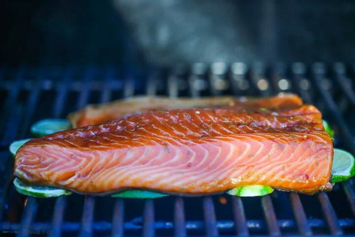 Soy and Lime Grilled Salmon