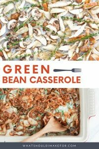 This is not your grandma's green bean casserole! Inspired by the casserole of my youth, but reimagined with fresh green beans, roasted wild mushrooms, creamy béchamel sauce, and a crispy shallot topping. This will become your favorite Thanksgiving side!