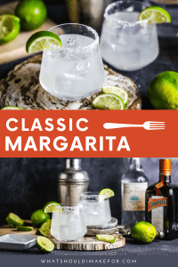 Classics are considered classics for a reason. The classic margarita is straightforward, simple, and decidedly delicious.