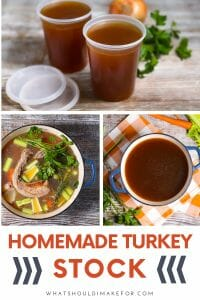 This make-ahead homemade turkey stock will take your gravy, soups, and stews to the next level. So easy to make all in one pot!