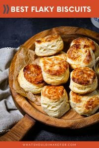 Buttery layers and a tender crumb make these the best flaky biscuits you've ever had!