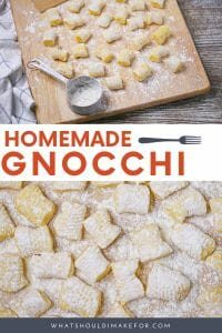 Learn how to make homemade gnocchi from potatoes, egg yolk and flour. Perfect little pillows that can be served in a million tasty ways!
