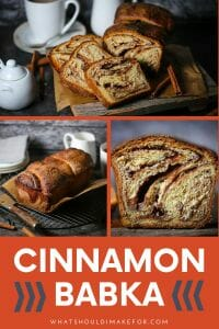 Swoon-worthy swirls make this sweet cinnamon babka a delicious treat for breakfast, snack-time or dessert!